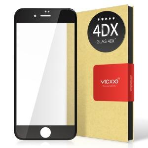 아이폰8/7 공용 4D 풀커버 강화유리 필름 블랙