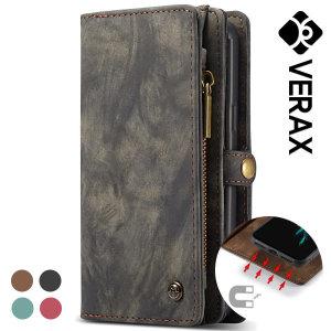 (베락스) 갤럭시노트9 CASAME 정품 마그네틱 지갑 가죽케이스 (P105)