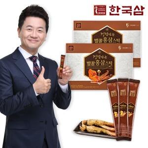 한국삼 정성담은 벌꿀홍삼스틱 30포 2박스/국내산 벌꿀