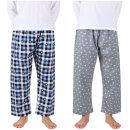 남자9부파자마 잠옷바지 순면100% 국산 사계절 실내복