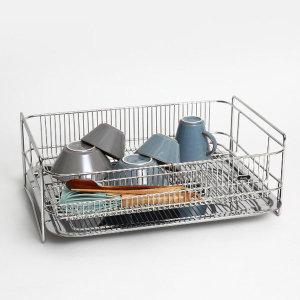 솔리드 1단 특대형 올스텐 식기건조대 설거지건조대