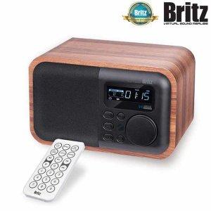 BA-C2 무선 소형 알람시계 블루투스 FM 라디오 스피커