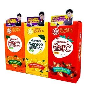 고려) 쏠라씨 (80정) 오렌지/레몬/딸기맛 선택구매