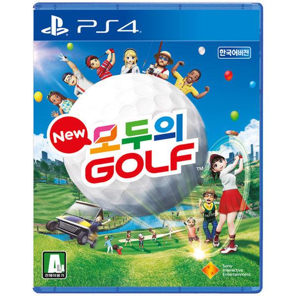 PS4 New 모두의 골프 한글판 /뉴모두의골프