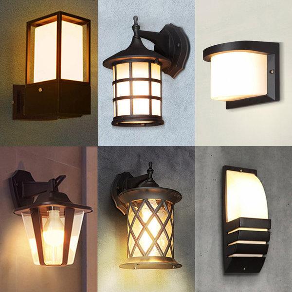한사랑조명/외부벽등/등기구/LED/실외벽등/야외조명
