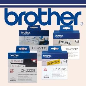브라더 DK-22211 DK-22212 DK-22606 DK-22251 QL-800