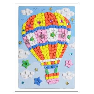 EVA 모자이크 아트 기구 스티커 퍼즐