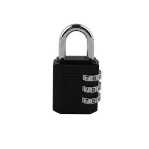 블랙번호열쇠자물쇠3단(벌크)