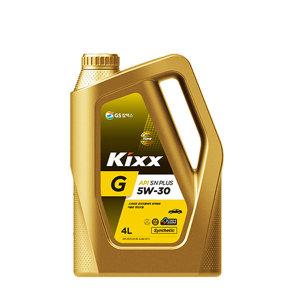 GS칼텍스/킥스/Kixx G 5W30/4리터/엔진오일