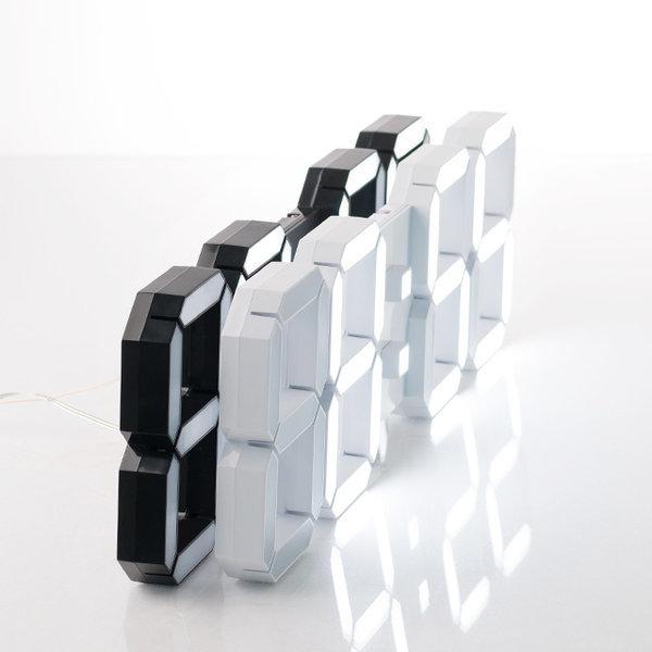 피아 3D LED 벽시계 38cm LG Innotek LED전구