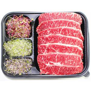 수입육/미국산/소고기/부채살 1kg스테이크용