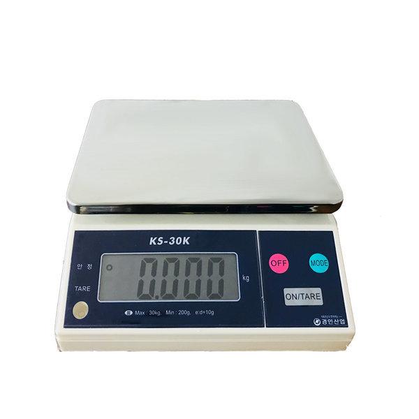저울 KS - 30kg(10g) 전자저울 주부저울 양면표시
