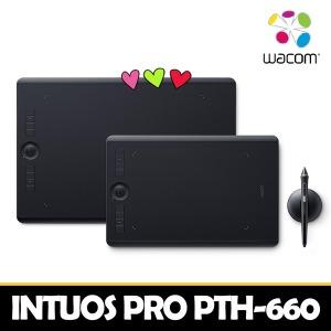 QR찍고 선물받기- 와콤 인튜어스 프로 PTH-660 타블렛