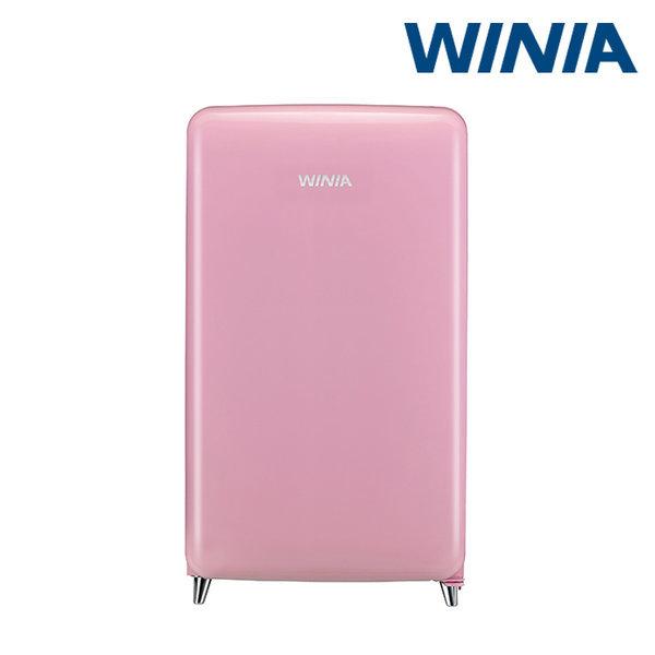 (공식) 위니아 소형냉장고 칵테일 핑크 ERT118CP