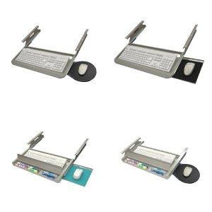 키보드받침대 마우스패드 키보드트레이 수납형 키보드