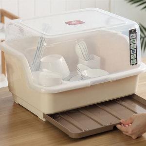 서랍형 물받침 뚜껑 식기건조대 유아젖병 보관으로 딱
