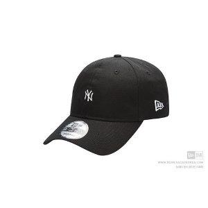 뉴에라 언스트럭쳐 미니 로고 뉴욕 양키스 볼캡 블랙