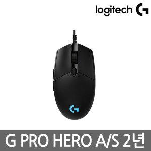 로지텍코리아 G PRO HERO 게이밍마우스 HERO 센서