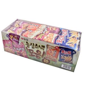 스낵 과자 모음 36봉 새우깡 포스틱 꿀꽈배기 자갈치