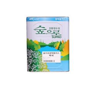 KCC숲으로 광택수성4L/고광택/콘크리트/
