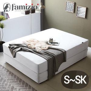 파미지오 스타일 방수 매트리스커버 침대커버