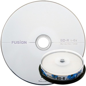 퓨전 BD-R 25G 6x 블루레이/Blu-ray 10P
