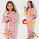 엘인보아 주니어 에어로히트 발열기모내의_핑크