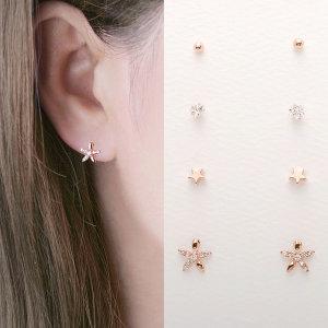 케이딘 귀걸이세트 4쌍 세트귀걸이 귀걸이 earring 45