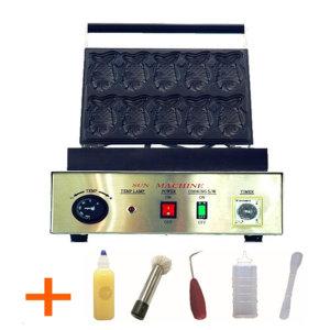붕어빵기계/정통 참붕어빵기계 10마리/도구셋트증정
