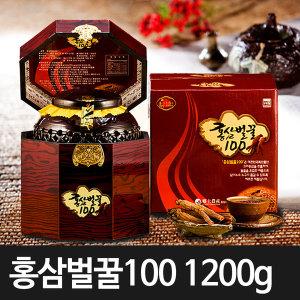 홍삼벌꿀100 홍삼 꿀 명절선물 부모님선물 밤투각1200g