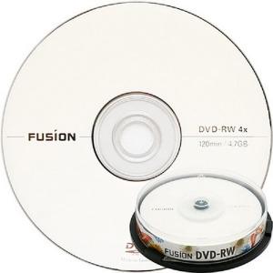 퓨전 DVD-RW 4배속 4.7GB (케이크10장)