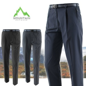 가을 겨울 원턱주름 등산바지/등산복/작업복/남성바지