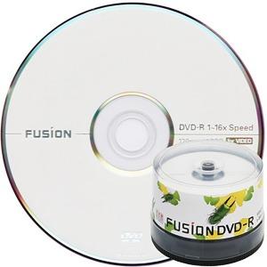 퓨전 DVD-R 16배속 4.7GB 비디오 (케이크50장)