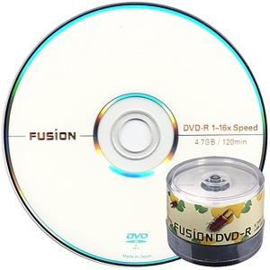 퓨전 DVD-R 16배속 4.7GB 공DVD (케이크50장)