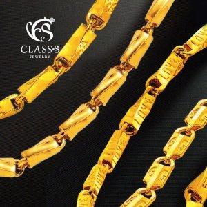 (클래스에스(Class S))  클래스에스  순금24K 남자체인 금목걸이2_37.5g 10종