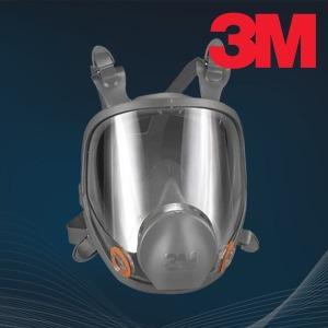 3M 방진마스크 방독면 전면형면체 호흡보호구 6800