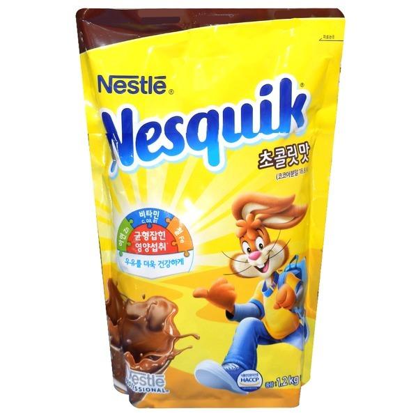 네슬레 초콜렛맛 핫초코 1.2kg 네스퀵 1.2kg /초콜릿