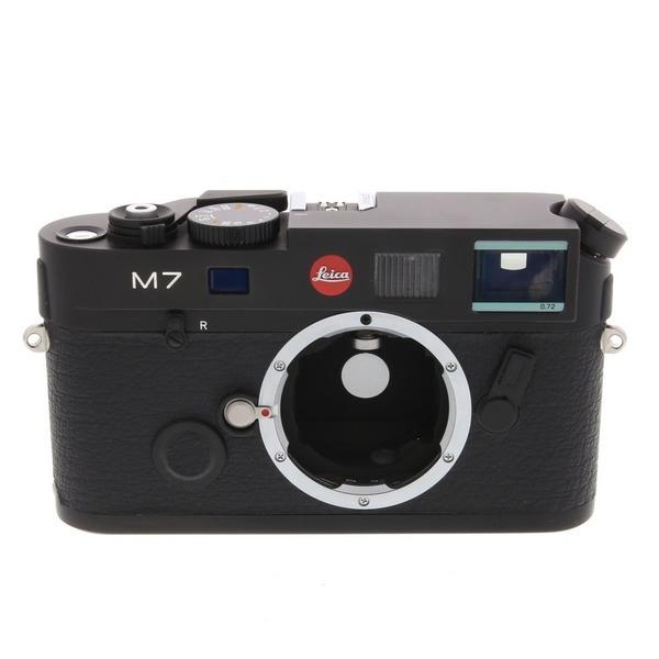 라이카 필름카메라 Leica M7  body  Black Chrome