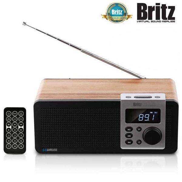 [브리츠] BA-D1 무선 블루투스 알람 시계 USB FM 라디오 스피커