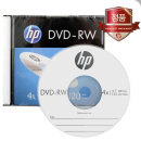 HP DVD-RW 4x 4.7GB 120min 슬림 1장