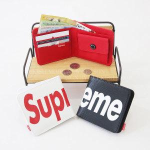 E2672/슈프림/학생지갑/가죽지갑/지갑 SUPR레터반지갑