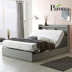 (현대Hmall)파로마 로엔 LED 모션베드+천연라텍스폼매트리스Q