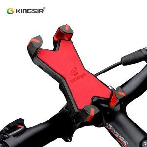 KINGSIR 자전거 핸드폰거치대 휴대폰거치대 용품 무배