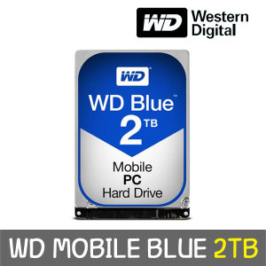 WD MOBILE BLUE 2TB 7mm WD20SPZX +正品 공식판매점+