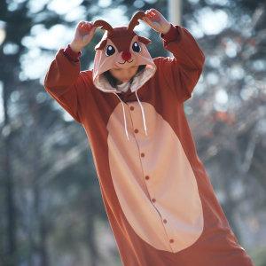 루돌프동물잠옷/사계절용/캐릭터잠옷/반티/크리스마스