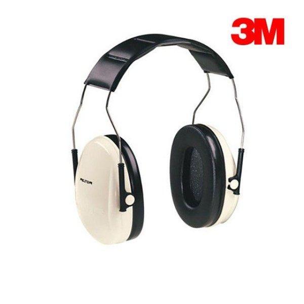 3M귀덮개 귀마개 헤드폰형 청력보호구 H6A V