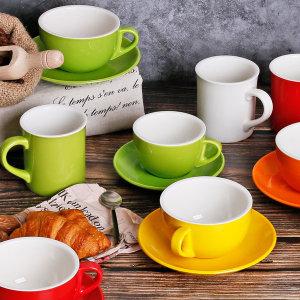 카페 찻잔 칼라 커피잔세트