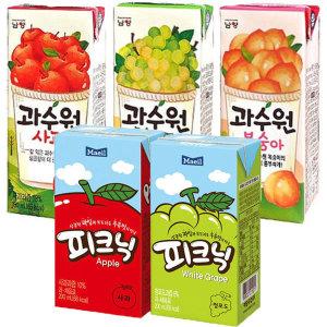 매일 피크닉200mlx24팩/과수원/델몬트/사과나무/빅썬