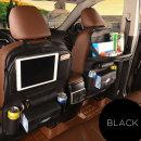 자동차 차량 시트거치대 뒷좌석 포켓수납테이블 / 블랙