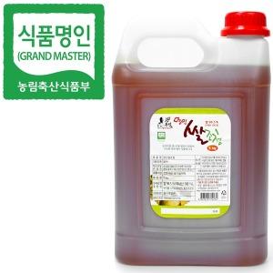 식품명인 강봉석 쌀조청 5kg/조청 물엿 올리고당 꿀